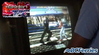 Tekken Tag Arcade in BC Ferries