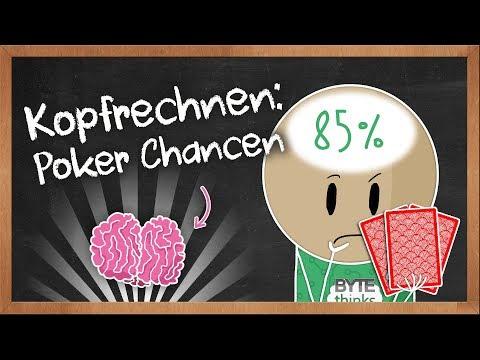 Poker Lernen: Gewinnchancen im Kopf berechnen
