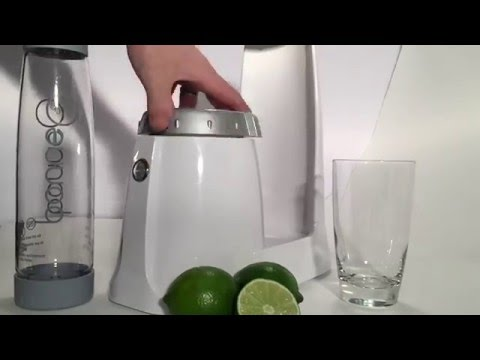 How to Create Lime Infused Sparkling Water - Setup & Start of Cycle