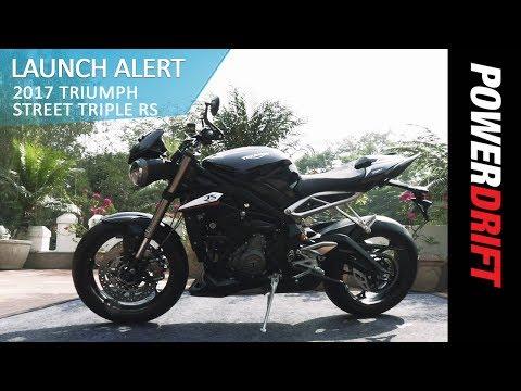 Triumph Street Triple 765 RS : Launch Alert : PowerDrift