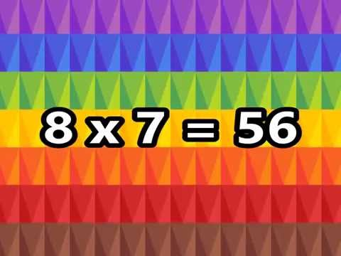 The 8 Times Table Song (Multiplying by 8) | Silly School Songs