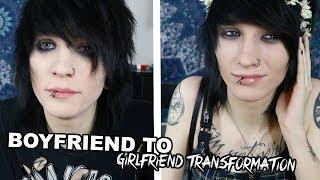 BOYFRIEND to GIRLFRIEND TRANSFORMATION