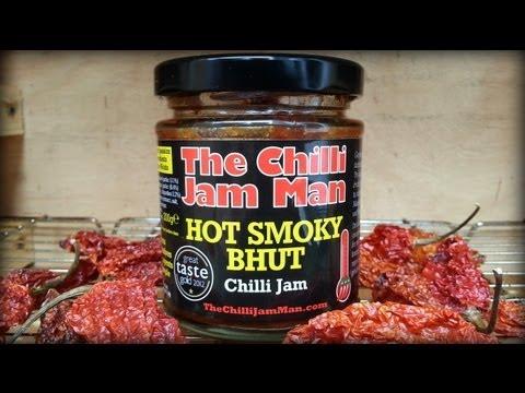HOT SMOKY BHUT Chilli Jam by The Chili Jam Man