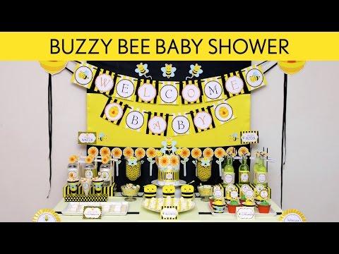 Buzzy Bee Birthday Party Ideas // Buzzy Bee - S40