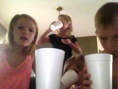Pineapple juice challenge