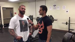 Gunner Interview: Signing with NXT, never main eventing in TNA, how he got his name