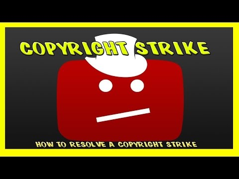 How To Remove a Copyright Strike on YouTube