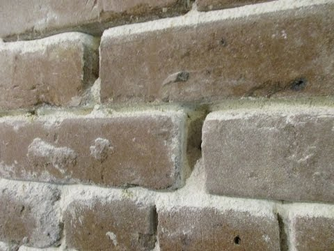 How to Repoint Failed Lime Mortar in Historic Brick Pt. 1