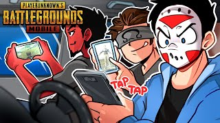 WE TRY OUR BEST TO WIN ON PUBG MOBILE! (Squads with Cartoonz & Ohm)