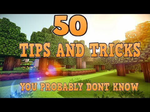 50 Tips And Tricks You Probably Dont Know About Minecraft