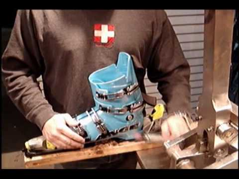 How to customize a ski boot