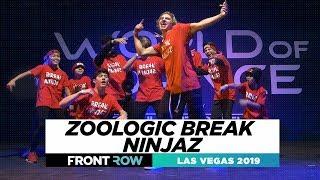 Zoologic Break Ninjaz FRONTROW World Of Dance Las Vegas 2019 WODLV19