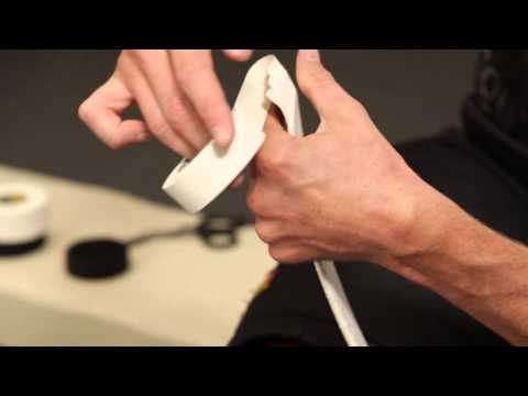How To Tape A Hockey Stick Blade - Howies Hockey Tape