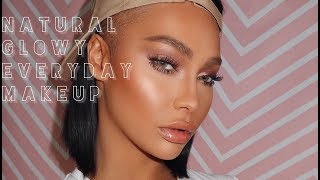 NATURAL GLOWY EVERYDAY MAKEUP   SONJDRADELUXE
