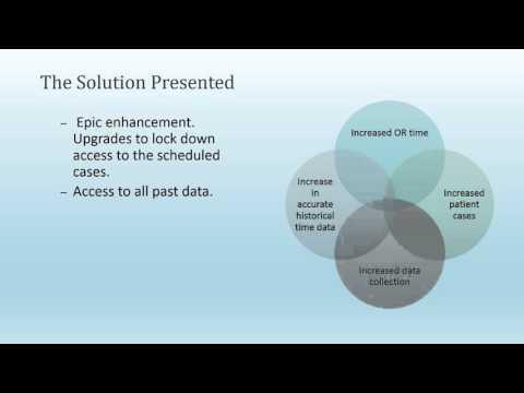 Epic OpTime Operating Room Management System