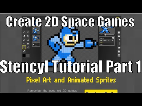 How to Make Your Own Space Game? Stencyl Tutorial Part 1 - Introduction