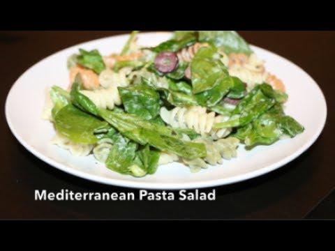How to make a delicious Mediterranean Pasta salad