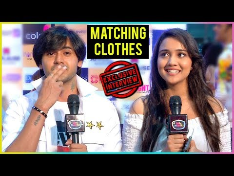 Sameer And Naina Wear MATCHING CLOTHES At IWM Buzz Party | EXCLUSIVE Interview | TellyMasala