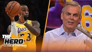 LeBron's move to PG is 'perfect,' Kawhi can be in MJ's 'class' with Clippers title | NBA | THE HERD