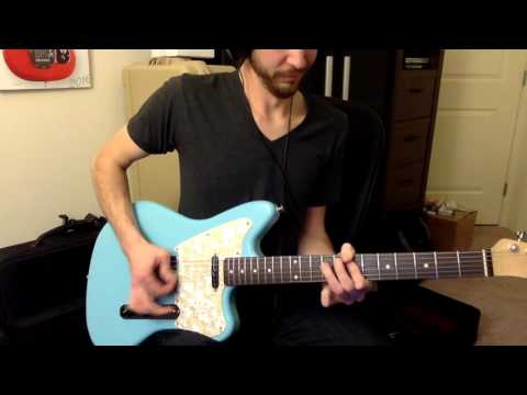 Warmoth/Allparts Jazzcaster w/ Fralin Split Blade Tele Pickups (Blues Output)