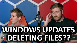 Windows Update DELETING Files!? - The WAN Show Oct 5, 2018