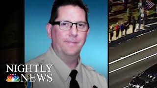 Sergeant Killed In California Mass Shooting Hailed A Hero | NBC Nightly News