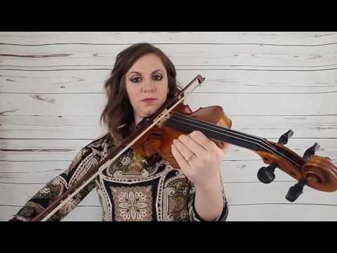 Violin Lesson 6: Whole Notes and Dotted Quarter Notes