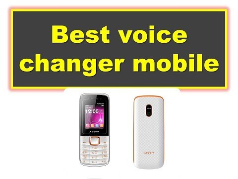 Voice Changer Mobile with best voice changer || 2018