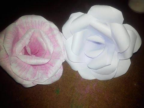 Xxx Mp4 কিভাবে বানাবেন কাগজের গোলাপ How To Make A Rose By Papers Bangla Origami Ep 3 3gp Sex