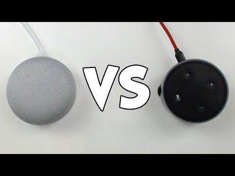 Amazon Echo vs Google Home - Asking Random Questions