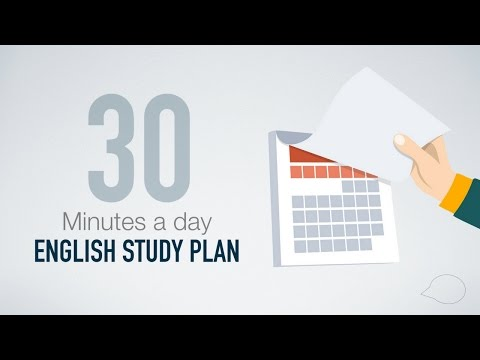 How to learn English in only 30 minutes a day