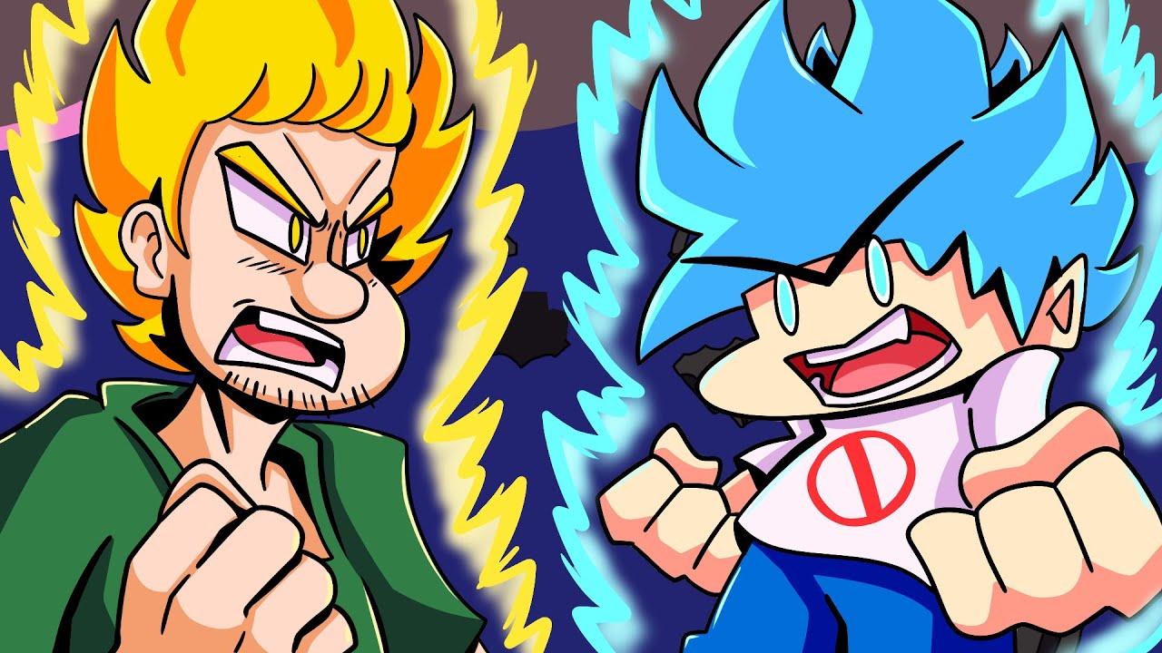 BOYFRIEND vs. SHAGGY?! Friday Night Funkin' Logic | Cartoon Animation