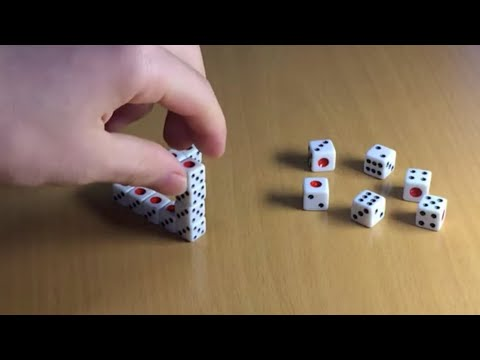 Dice Triangle Illusion - Make The Impossible Possible
