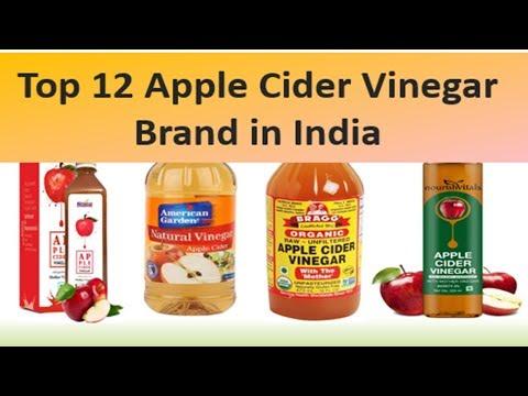 TOP 12 APPLE CIDER VINEGAR BRAND IN INDIA