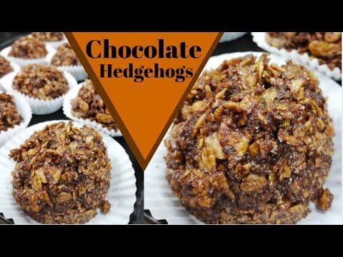 How to make CHOCOLATE HEDGEHOGS