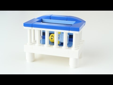 How to Build: LEGO Baby Boy's Crib