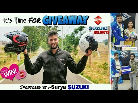 Giveaway Contest 2018    Ride ,Travel & Safety