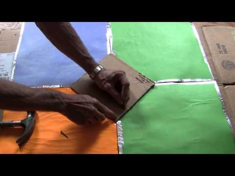How to Make Copenhagen Solar Cooker