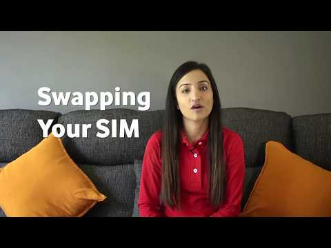 How to swap your SIM