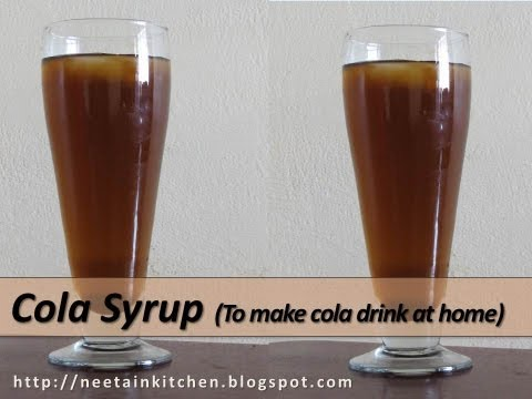 Cola Syrup - To make Cola Drink at Home (English Subtitles)