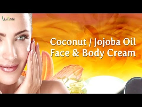 DIY - Coconut Jojoba Oil Face & Body Cream | Beauty Tips for Glowing Skin