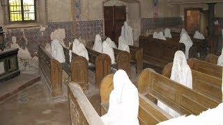चर्च के अंदर दिखे असली भूत | paranormal activity in churches , caught on camera
