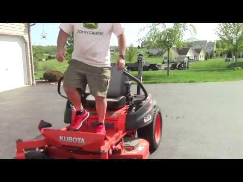 Kubota Z411 Zero Turn Quick Review