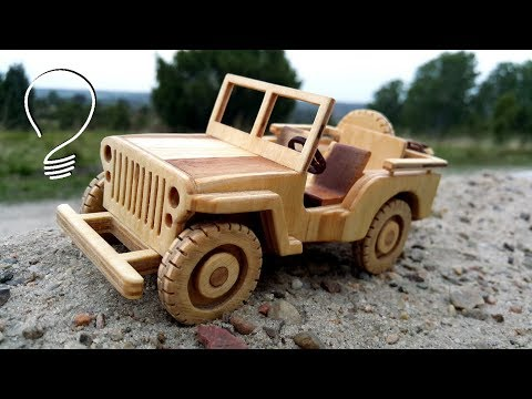 Jeep Willys - Toy Car // 1:24 Scale Model