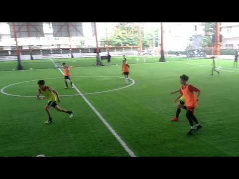 Soccer Training Professional guidance [teamwork]