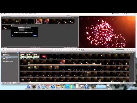 How To Freeze A Video File On iMovie 11