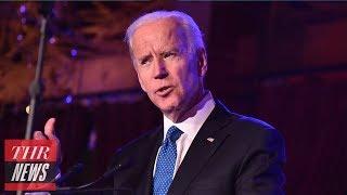 "Joe Biden Calls for More Than ""Lip Service"" From NFL Amid #MeToo Movement | THR News"