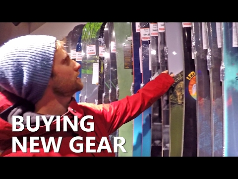 Buying New Gear - Boots, Bindings & Snowboard