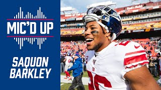 Saquon Barkley Mic'd Up