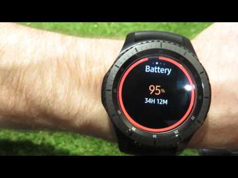 Samsung Gear S3 - Know it! App with Battery Power Widget etc... and Arabic Language